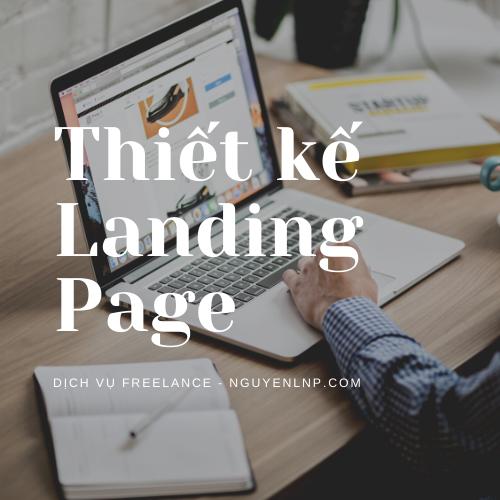 Freelancer thiết kế Landing Page - Nguyen LNP - nguyenlnp.com