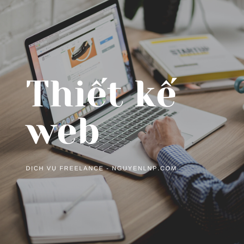 Freelancer thiết kế web trên WordPress - Nguyen LNP - nguyenlnp.com